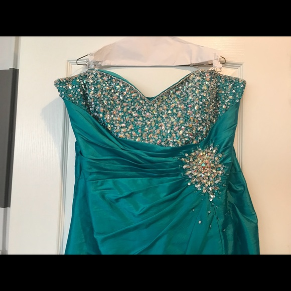 Dresses | Plus Size Evening Gown Or Prom Dress Size 18 | Poshmark